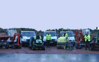 Employees of Thomson Landscapes