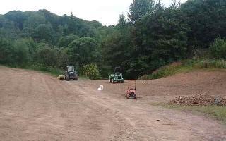 Seeding park land (2)