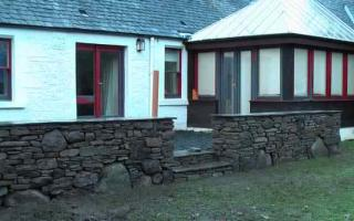 Walling and patio
